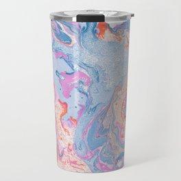 Marbled Summer Travel Mug