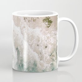 Frothy Fourth Beach Coffee Mug