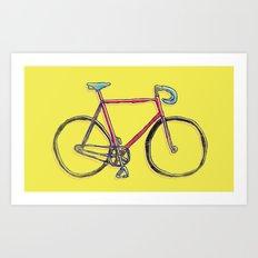 this is my bike. Art Print