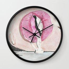 La bocca Wall Clock