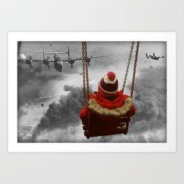 Bombers Art Print