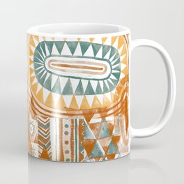 Tribal Bohemian Mosaic Coffee Mug