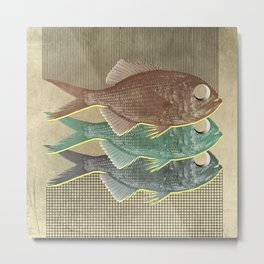 feeling selfish to sell fish Metal Print