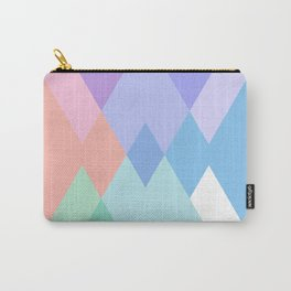 Geometric Pattern in Soft Hues Carry-All Pouch