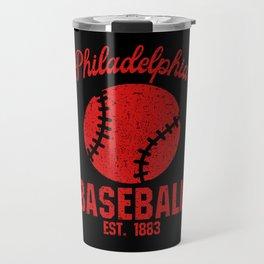 Philadelphia Baseball USA Gift Present Idea Travel Mug