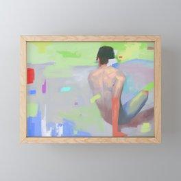 Boundary Framed Mini Art Print