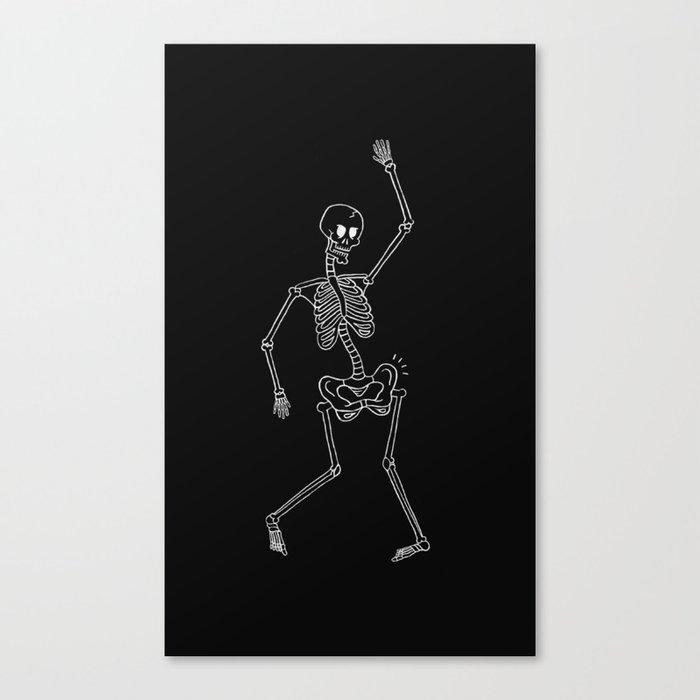 Hip Poping Canvas Print