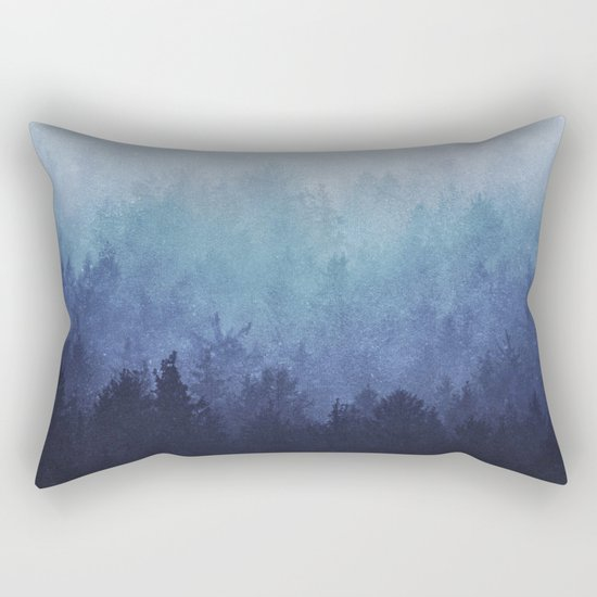 Just say the word, we'll take on the world. Rectangular Pillow