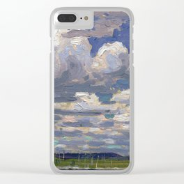 Tom Thomson - Summer Day - Canada, Canadian Oil Painting - Group of Seven Clear iPhone Case