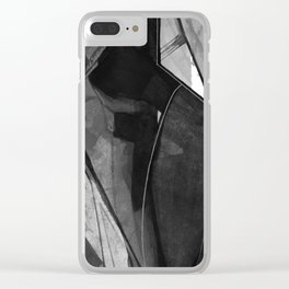Abstraction 317K by Kathy Morton Stanion Clear iPhone Case