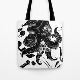Monster Autopsy - Negative Tote Bag
