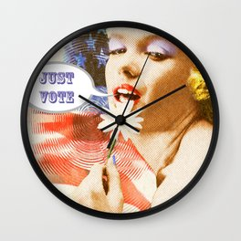 just vote Wall Clock