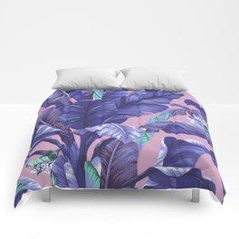 Banana Leaf love Comforters