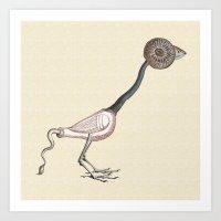 Little Monster #4 Art Print