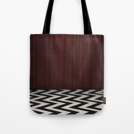 Black Lodge / Red Room Twin Peaks Tote Bag