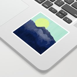 Sunset Mountain Sticker