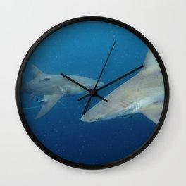 Sandbar & Lemon Shark Wall Clock