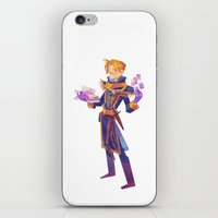 warcraft iPhone & iPod Skins featuring Anduin Wrynn by geminidraws