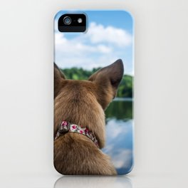 Dog by Lesly Juarez iPhone Case