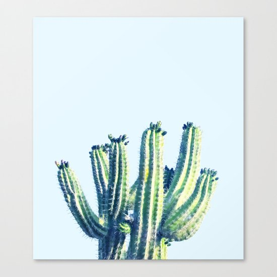Cactus #society6 #decor #buyart Canvas Print