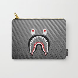 Frame carbon fiber bape shark Carry-All Pouch