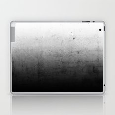 Black Ombre Concrete Texture Laptop & iPad Skin