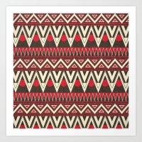 Tribal New World  Art Print