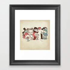 Costume Party Framed Art Print
