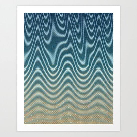 Sea & Shore Art Print