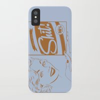 shit iPhone & iPod Cases featuring Shit!  by Plan 9 Design