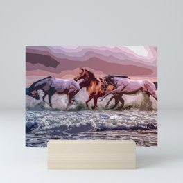 Lucky Horses Mini Art Print