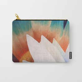 Juxtaposed Flowers Carry-All Pouch