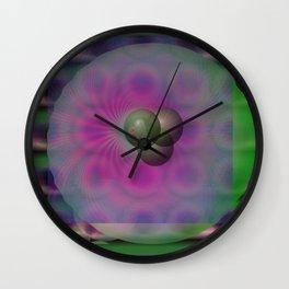 Pandemic Cells Wall Clock