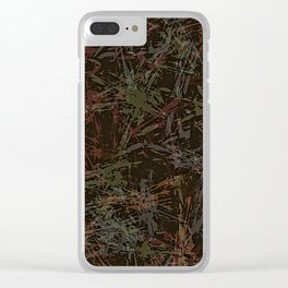 Abstract collection 124 (v.1) Clear iPhone Case