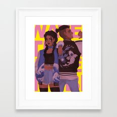water tribe Framed Art Print