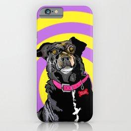 Hypno Doggie iPhone Case