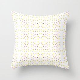 Starbound - Yellow and Orange Watercolour Pattern Throw Pillow