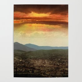 Sunset from Cripple Creek, Colorado, ca. 1899 Poster