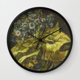 Vincent van Gogh - Cineraria Wall Clock