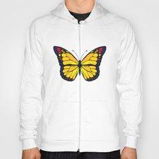 Yellow butterfly Hoody