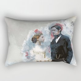 North and South, Richard Armitage, Daniela Denby-Ashe Rectangular Pillow