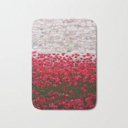 Tower Poppies 04B Bath Mat