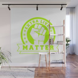 Video Game Extra Lives Matter Wall Mural