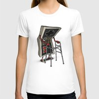 gamer T-shirts featuring Old Gamer by Gintron