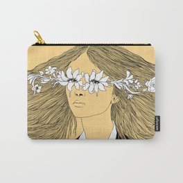 Flowers in My Eyes (Life in a Glimpse) Carry-All Pouch