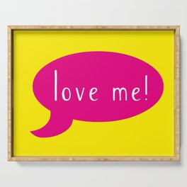 Love me! Serving Tray
