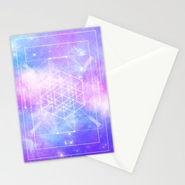 Sacred Geometry (Universal Consciousness) Stationery Cards