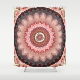 Mandala Teenage Girl Shower Curtain