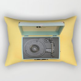 Lionel's Record Player Rectangular Pillow