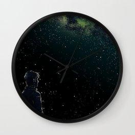 John Under Pegasus Wall Clock